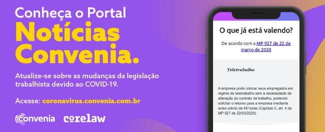 Portal: Notícias Convenia Covid-19