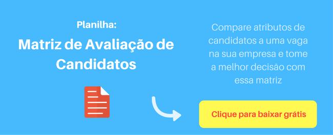Template Avaliação de Candidatos